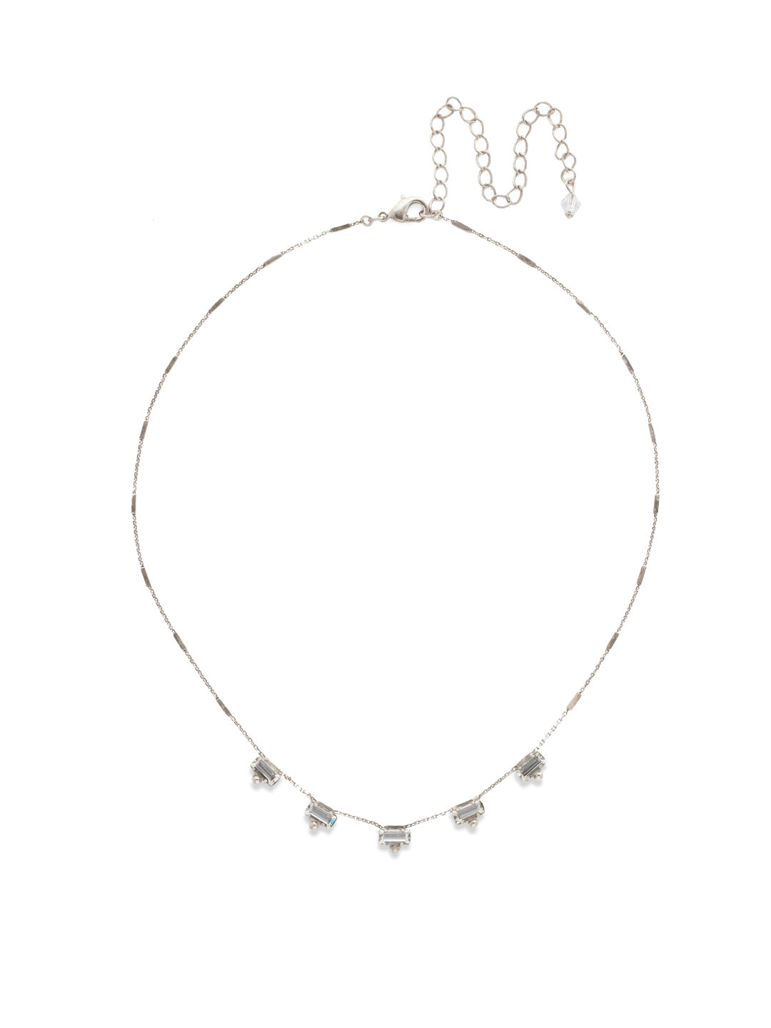 Shine and Dash Tennis Necklace - NDM17ASCRY