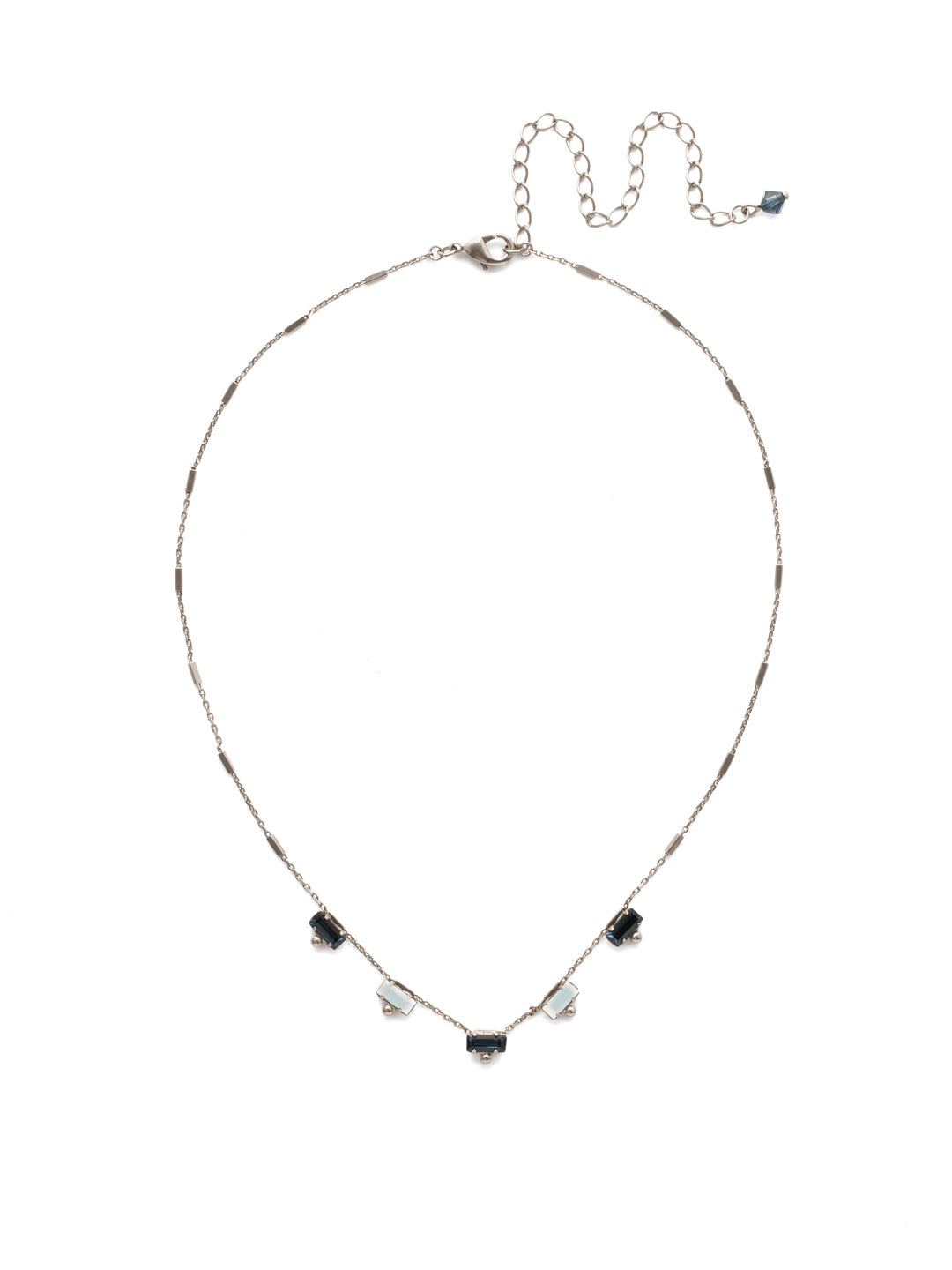 Shine and Dash Tennis Necklace - NDM17ASGBL