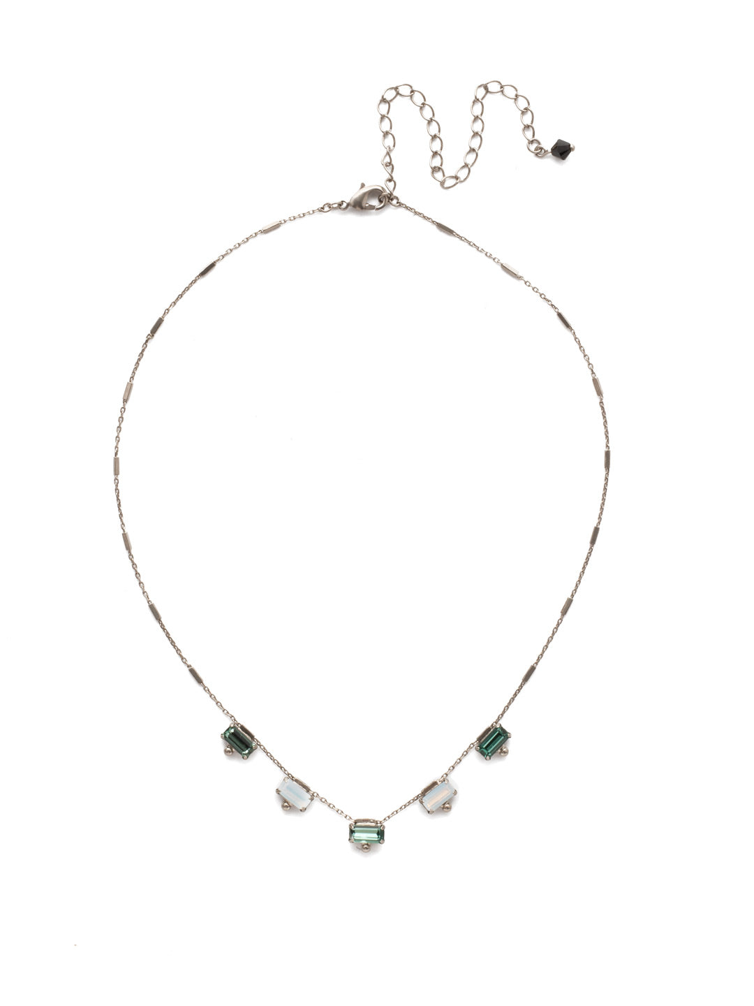 Shine and Dash Tennis Necklace - NDM17ASGDG