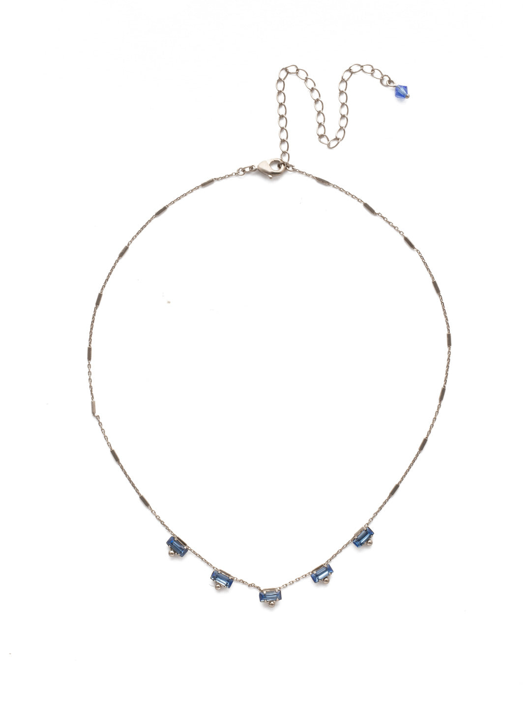 Shine and Dash Tennis Necklace - NDM17ASOCR
