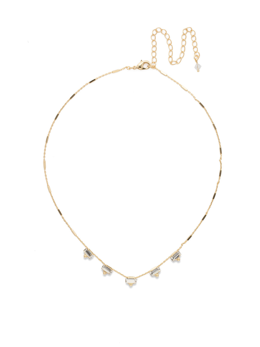 Shine and Dash Tennis Necklace - NDM17BGCRY