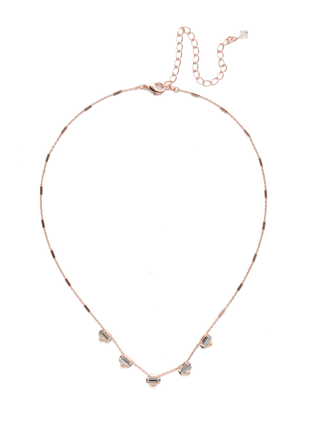 Shine and Dash Tennis Necklace - NDM17RGCRY