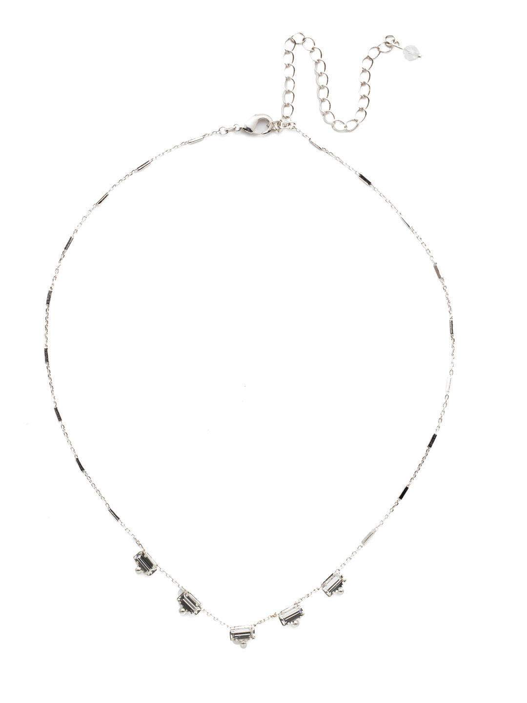 Shine and Dash Tennis Necklace - NDM17RHCRY