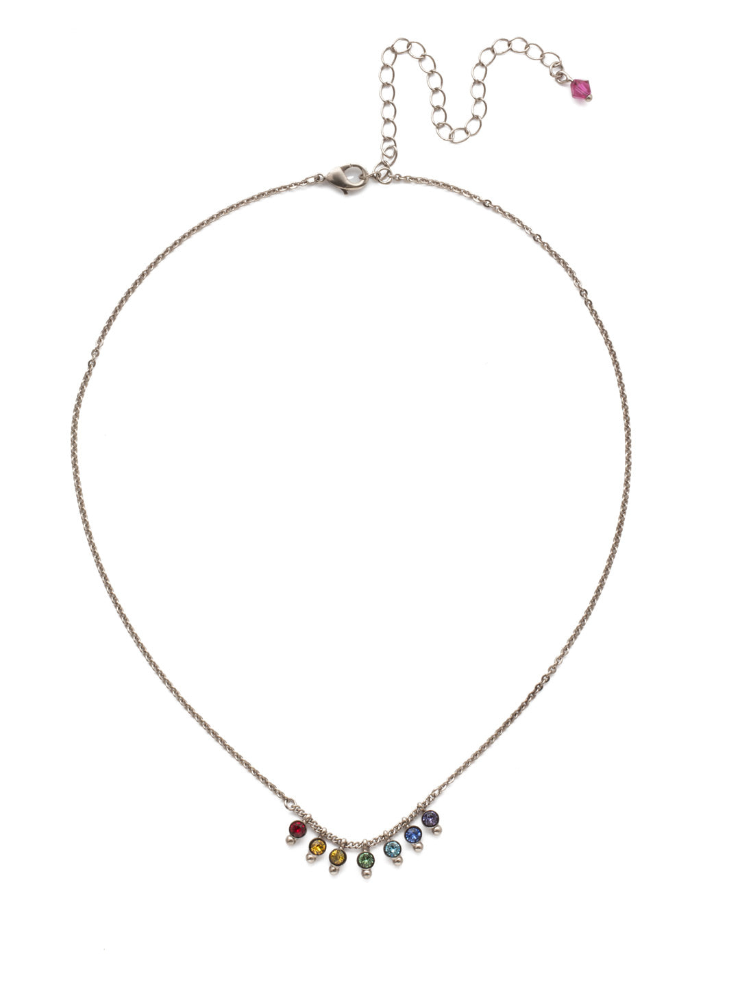 Delicate Dots Pendant Necklace - NDN115ASPRI