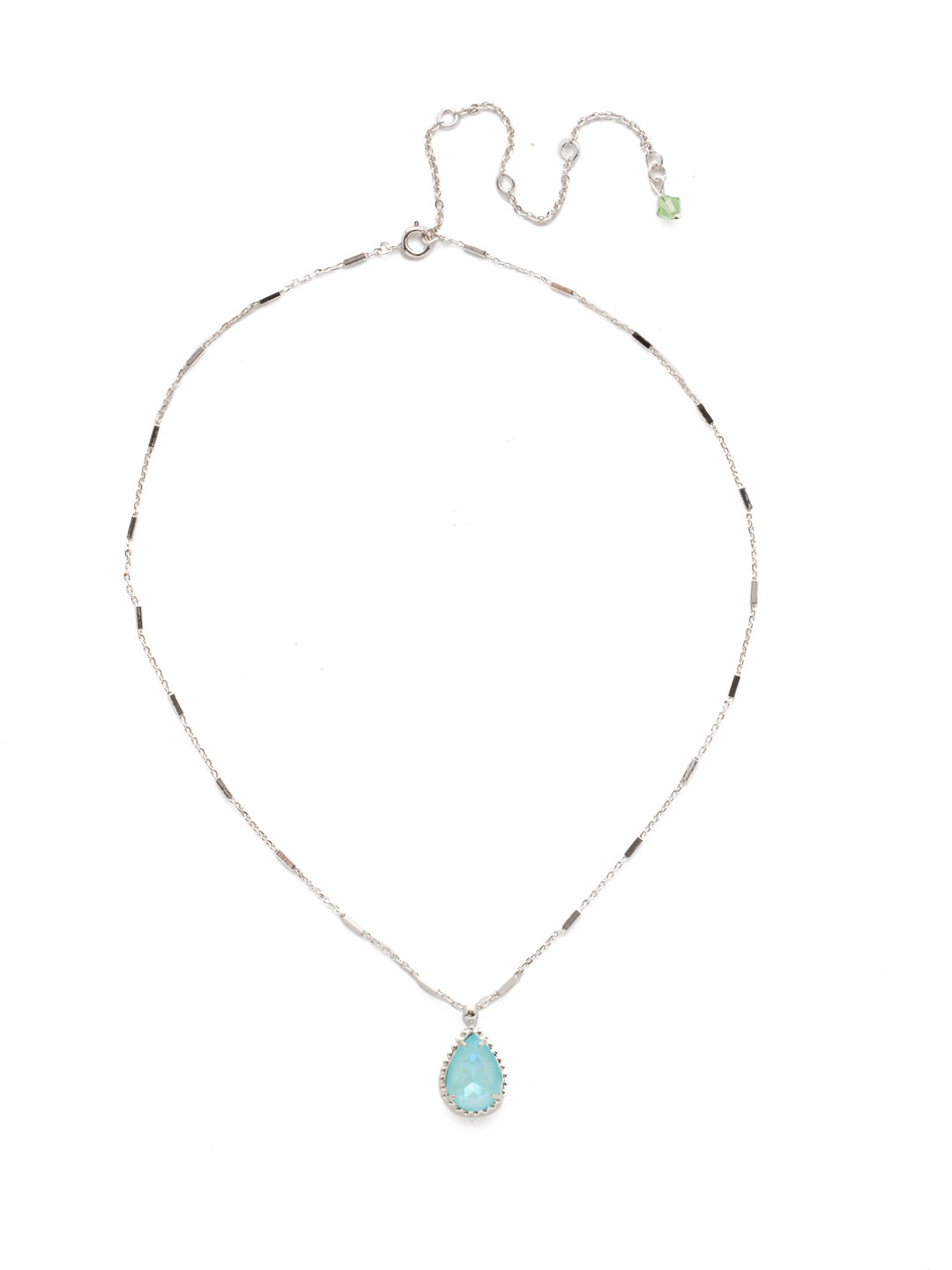 Simply Adorned Pendant Necklace - NDN12RHSSU
