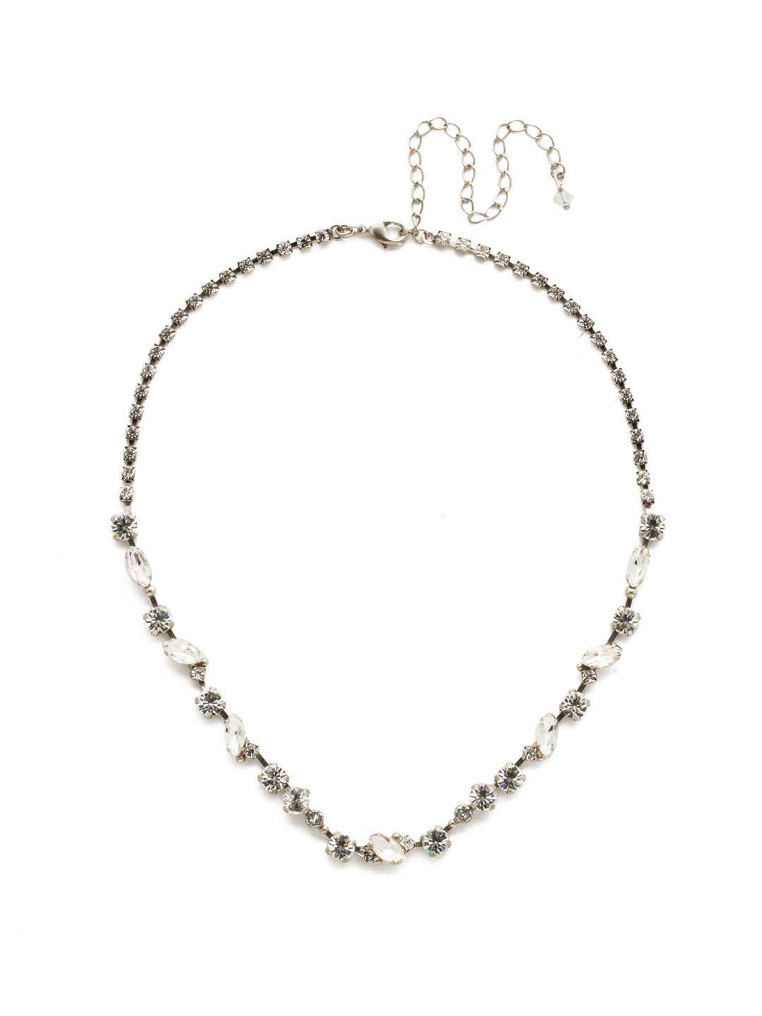 Simply Stated Tennis Necklace - NDN1ASCRY