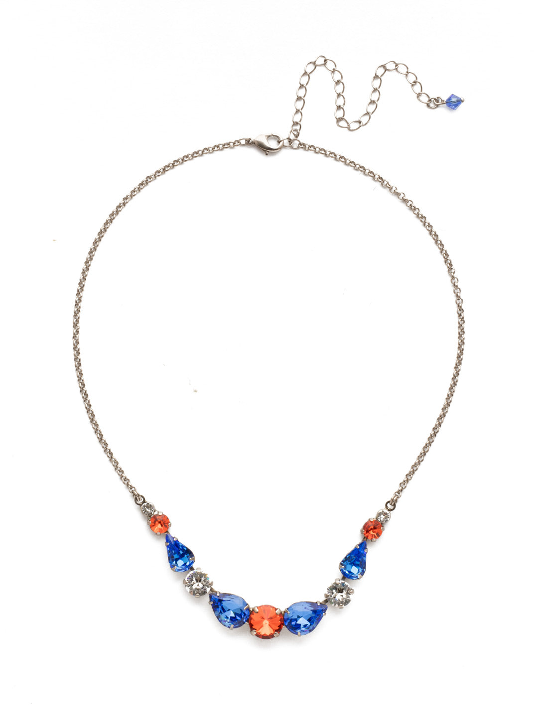 Polished Pear Statement Necklace - NDN74ASOCR