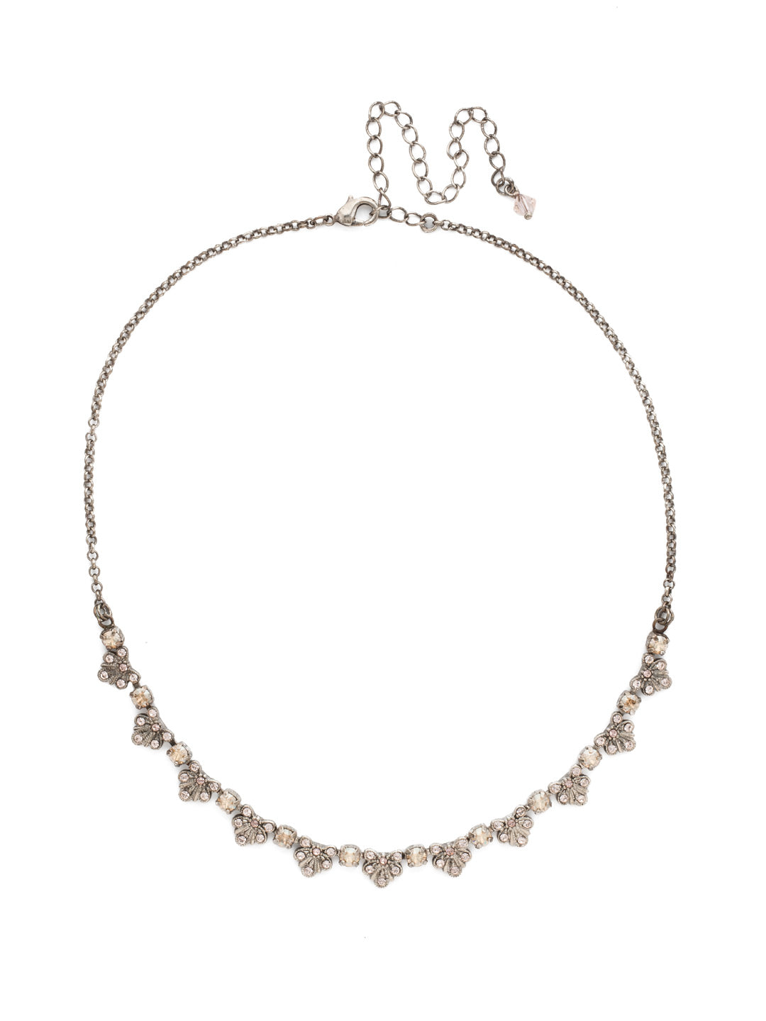 Brilliant Burst  Necklace - NDP3ASSBL