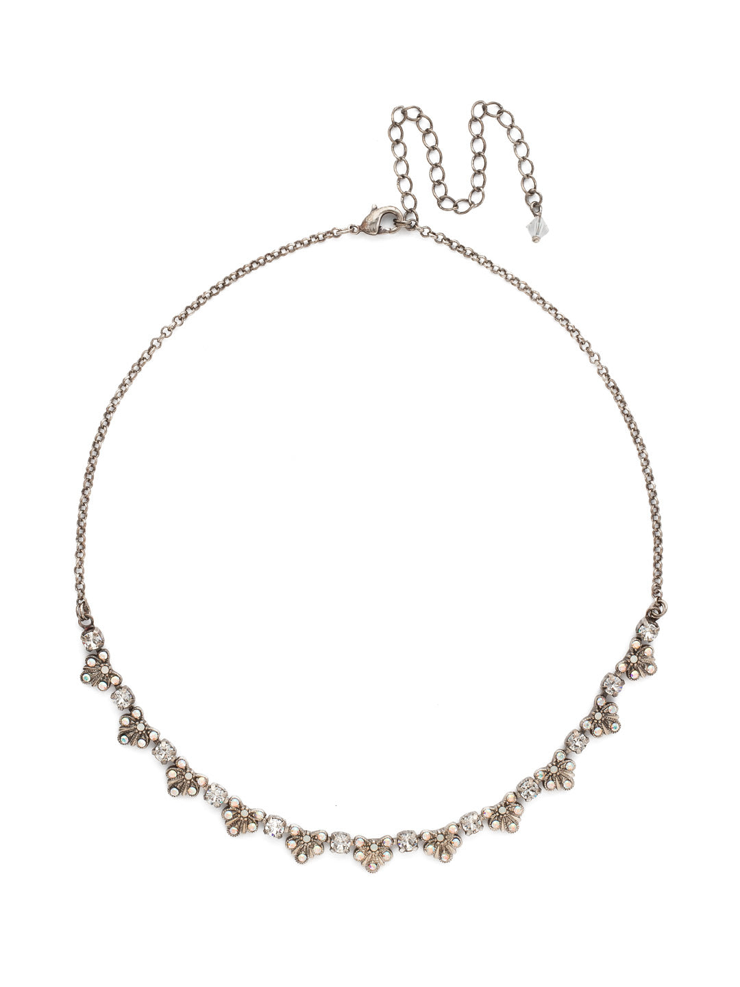 Brilliant Burst  Necklace - NDP3ASWBR