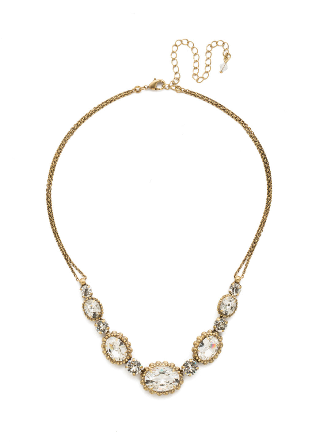 Camellia Necklace - NDQ10AGCRY