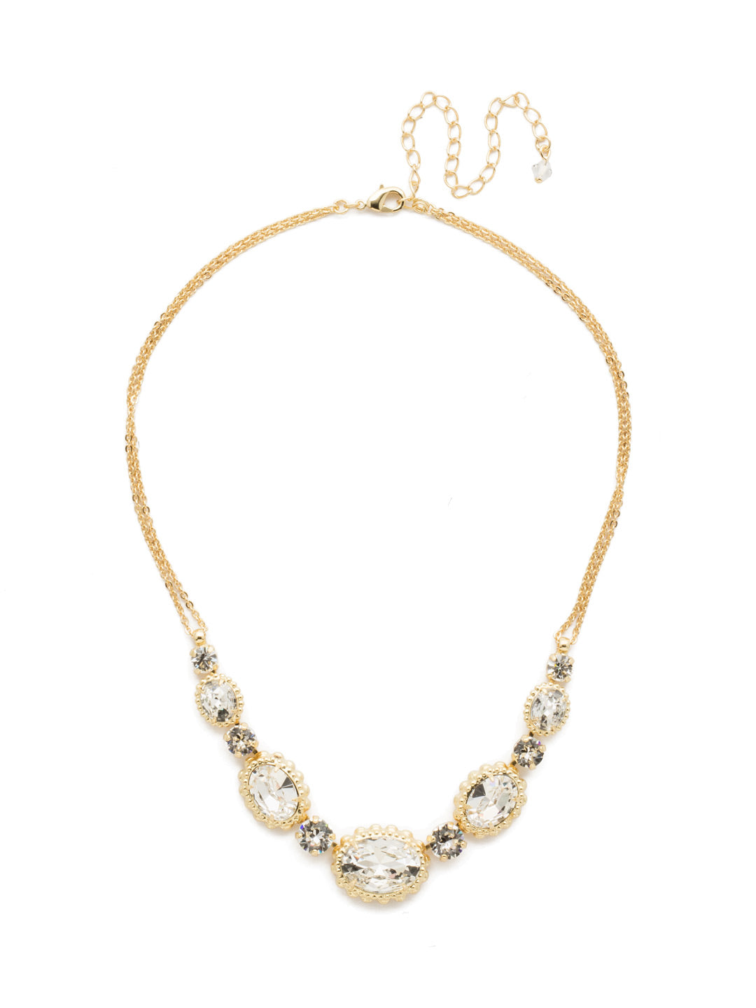 Camellia Necklace - NDQ10BGCRY