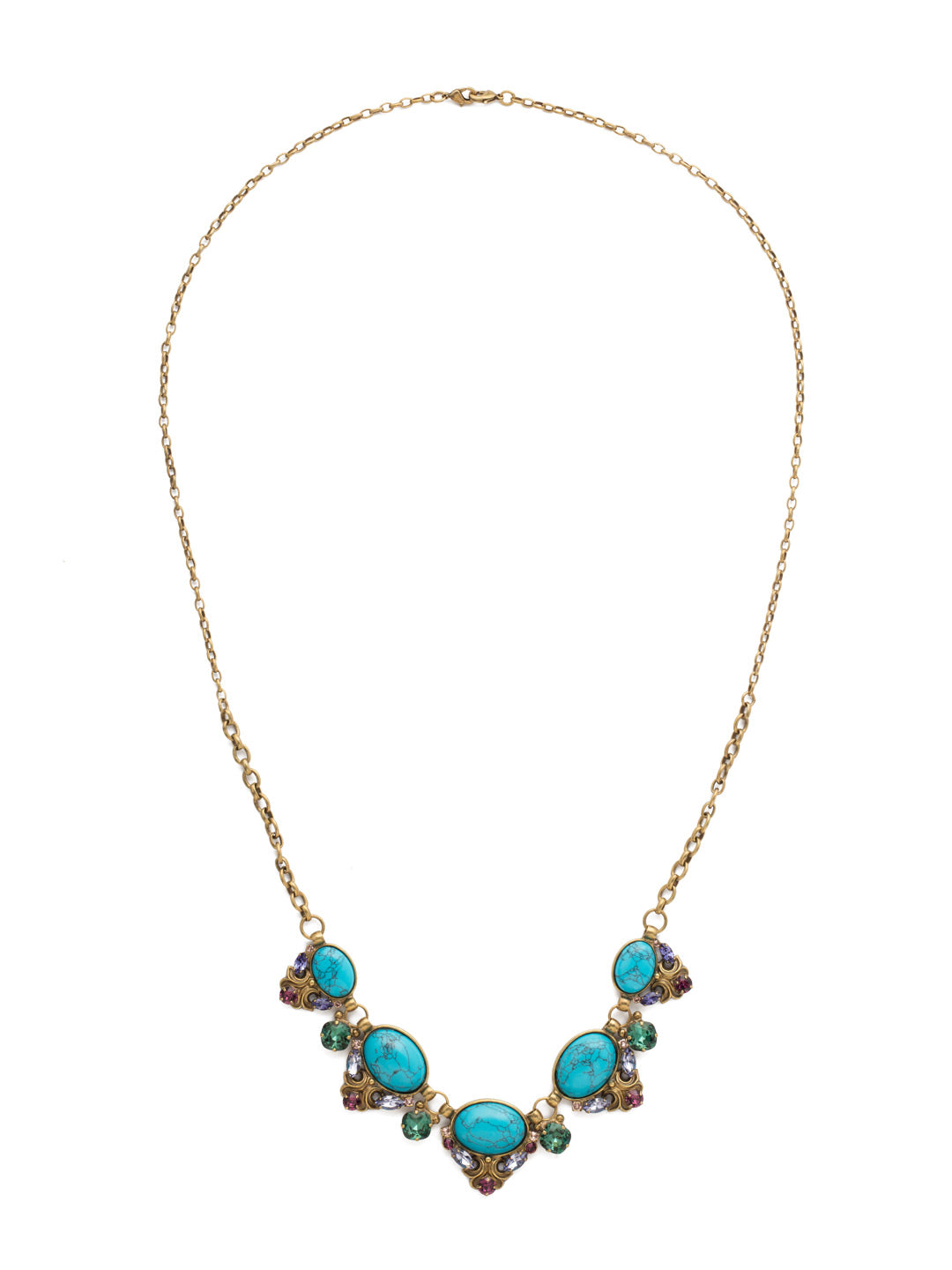 Flora Filigree Necklace - NDQ12AGJT