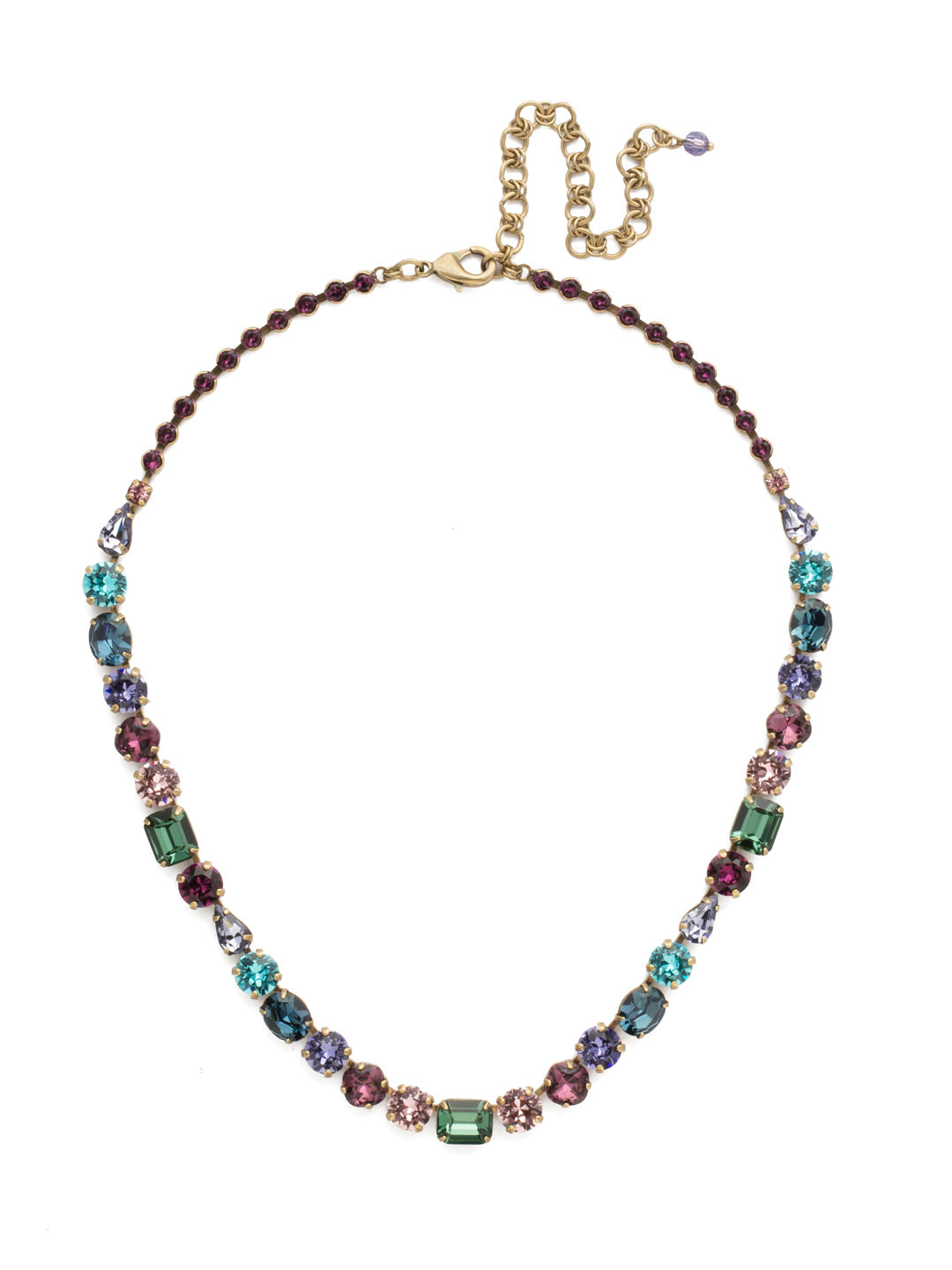 Tansy Line Necklace - NDQ13AGJT