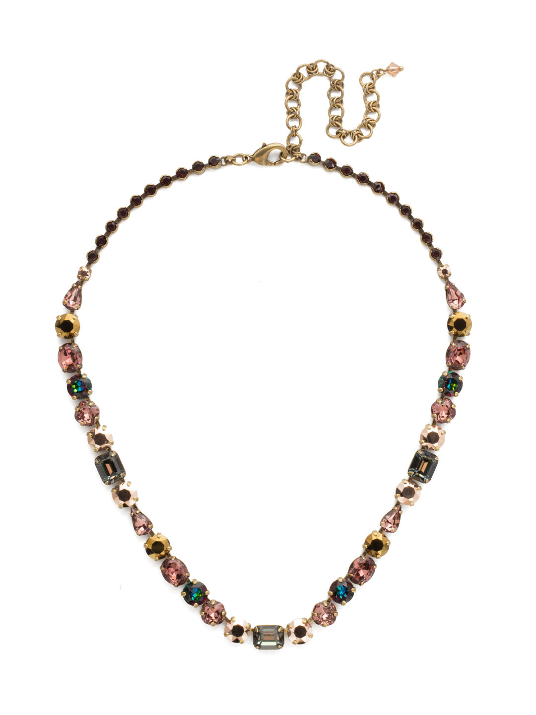 Tansy Line Necklace - NDQ13AGM