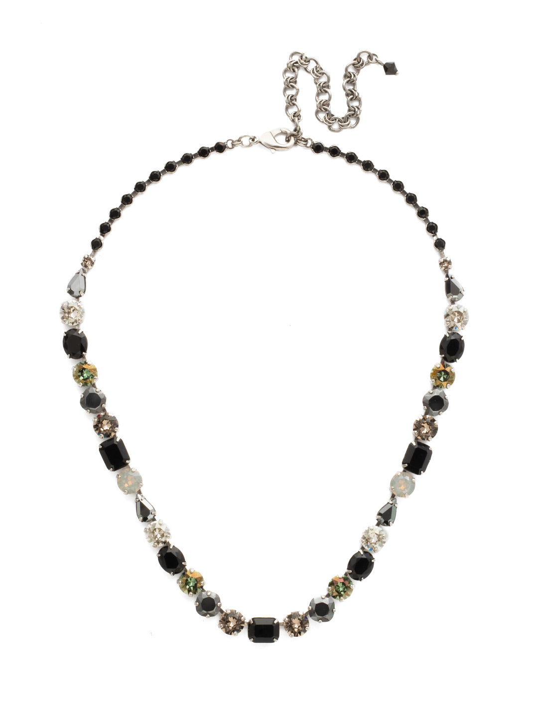Tansy Line Necklace - NDQ13ASBON