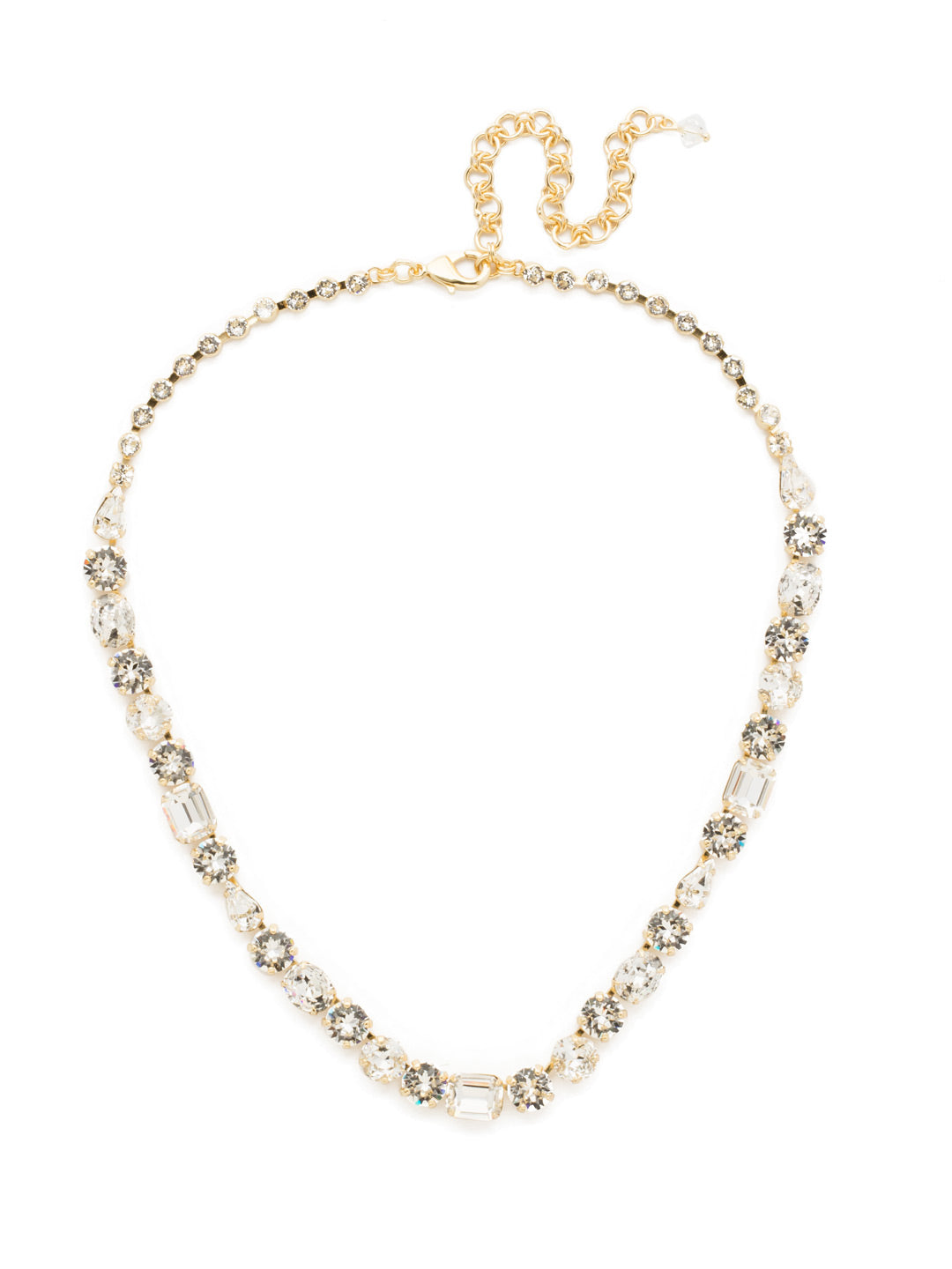 Tansy Line Necklace - NDQ13BGCRY