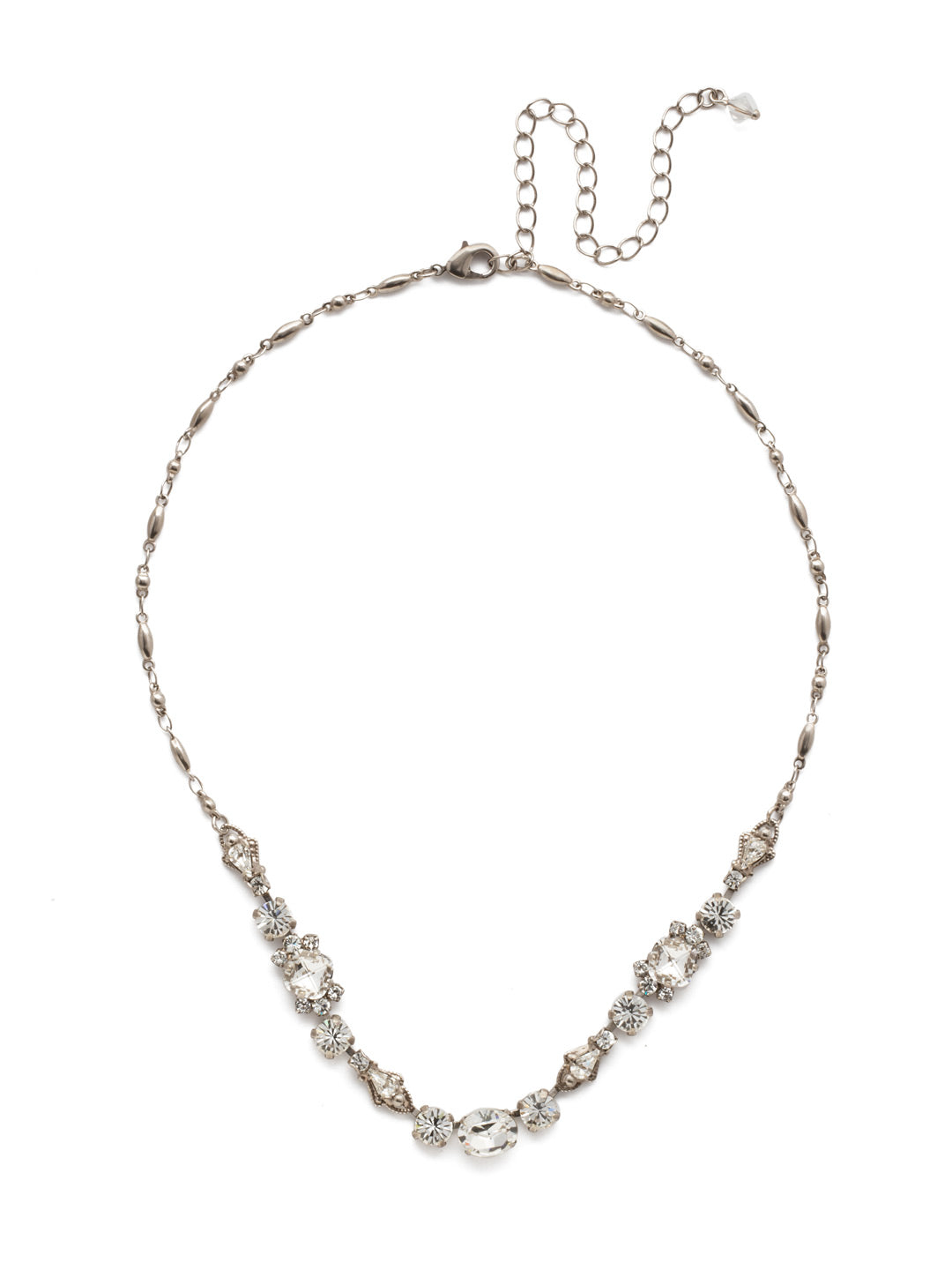 Saffron Tennis Necklace - NDS48ASCRY