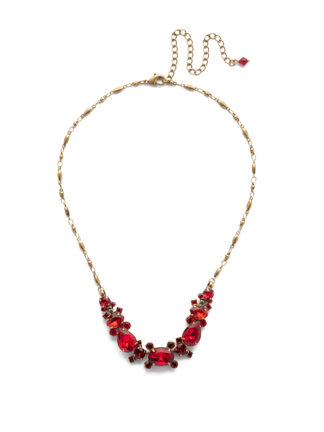 Laurel Statement Necklace - NDS49AGSNR