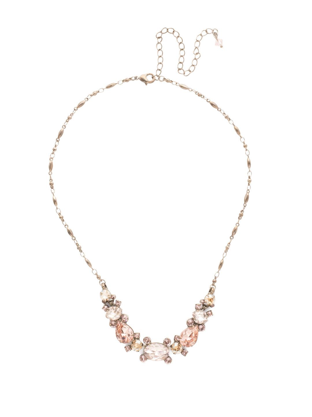 Laurel Statement Necklace - NDS49ASSBL