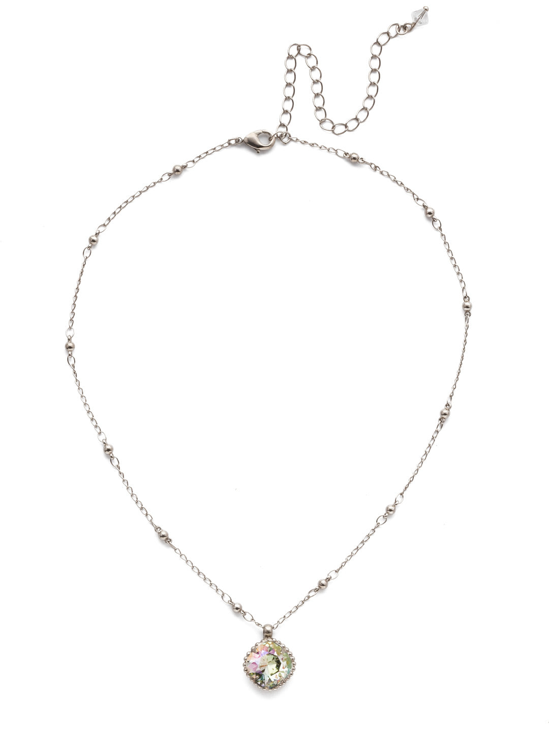 Cushion-Cut Pendant Necklace - NDS50ASCRE
