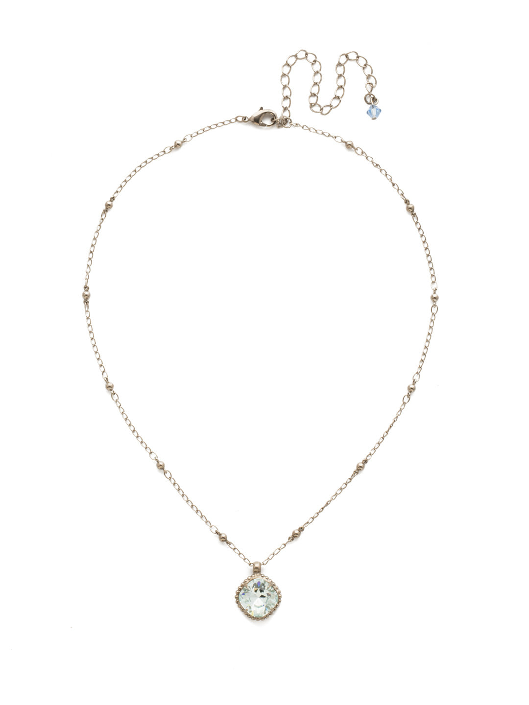 Cushion-Cut Pendant Necklace - NDS50ASLAQ