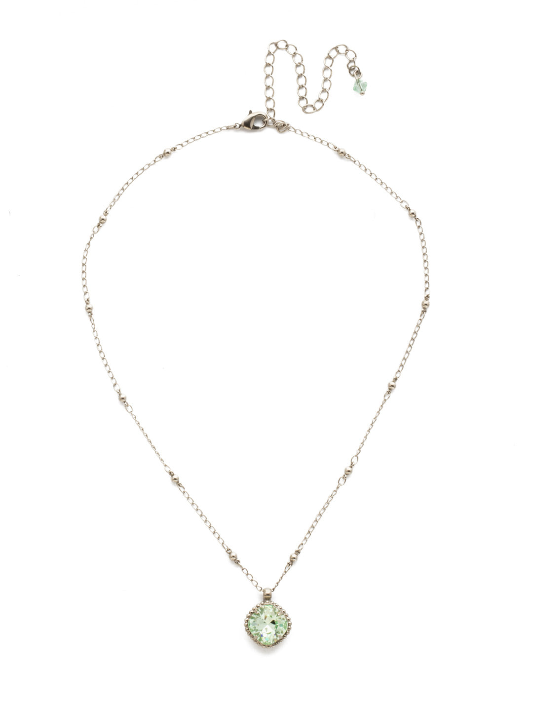 Cushion-Cut Pendant Necklace - NDS50ASMIN