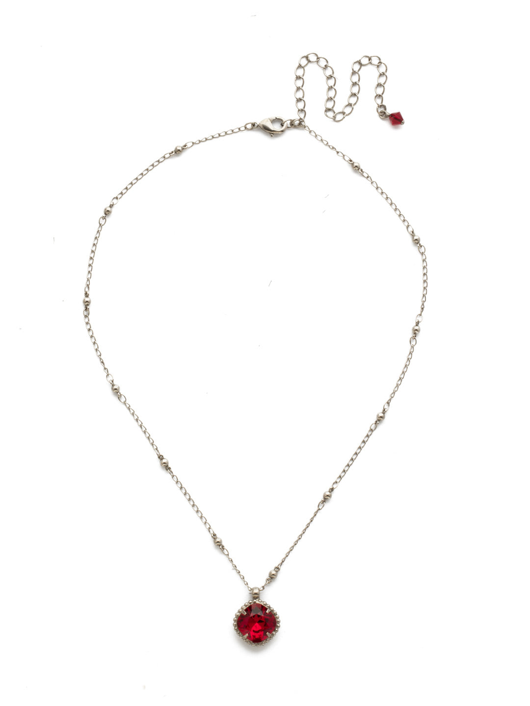 Cushion-Cut Pendant Necklace - NDS50ASSI