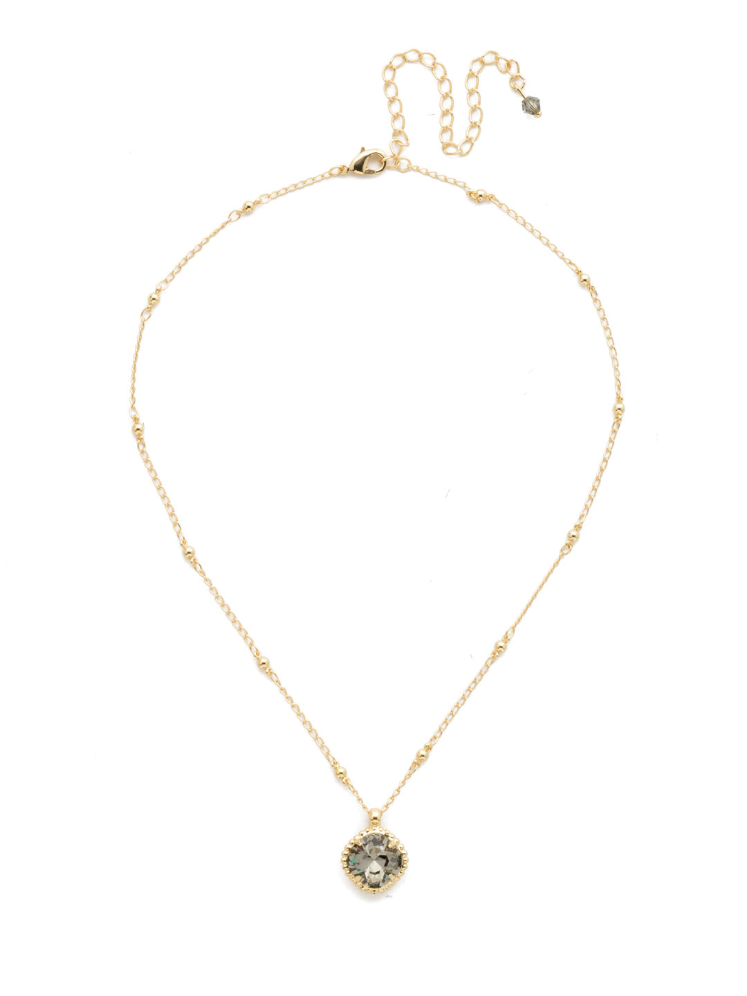 Cushion-Cut Pendant Necklace - NDS50BGBD