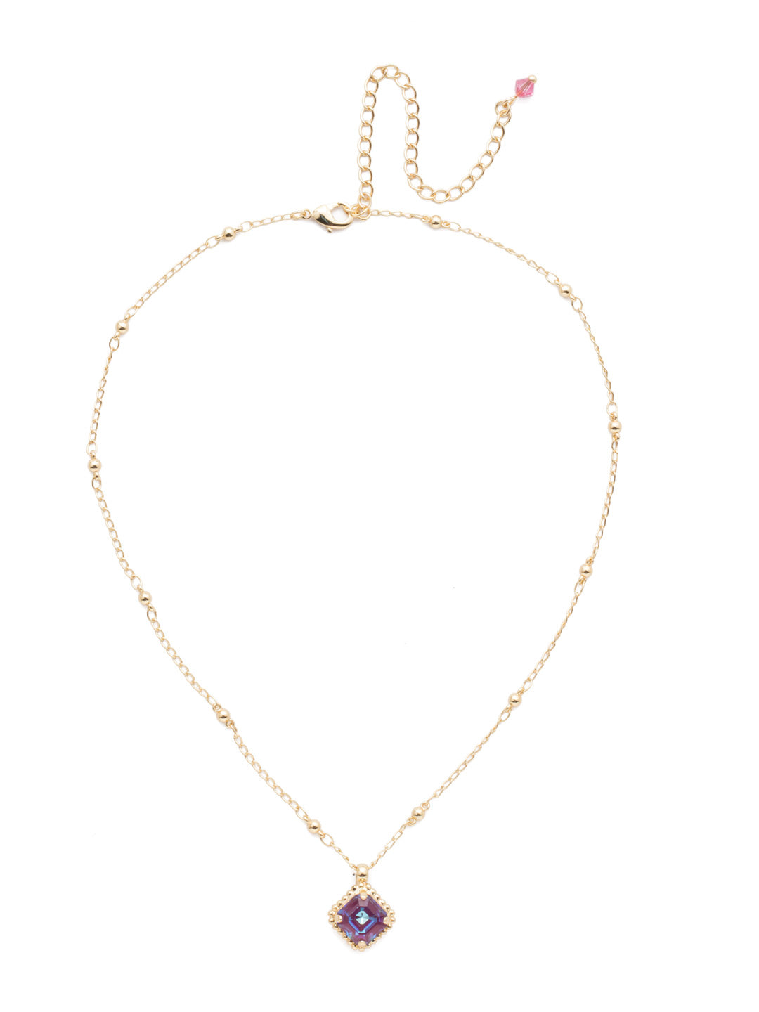 Cushion-Cut Pendant Necklace - NDS50BGBGA