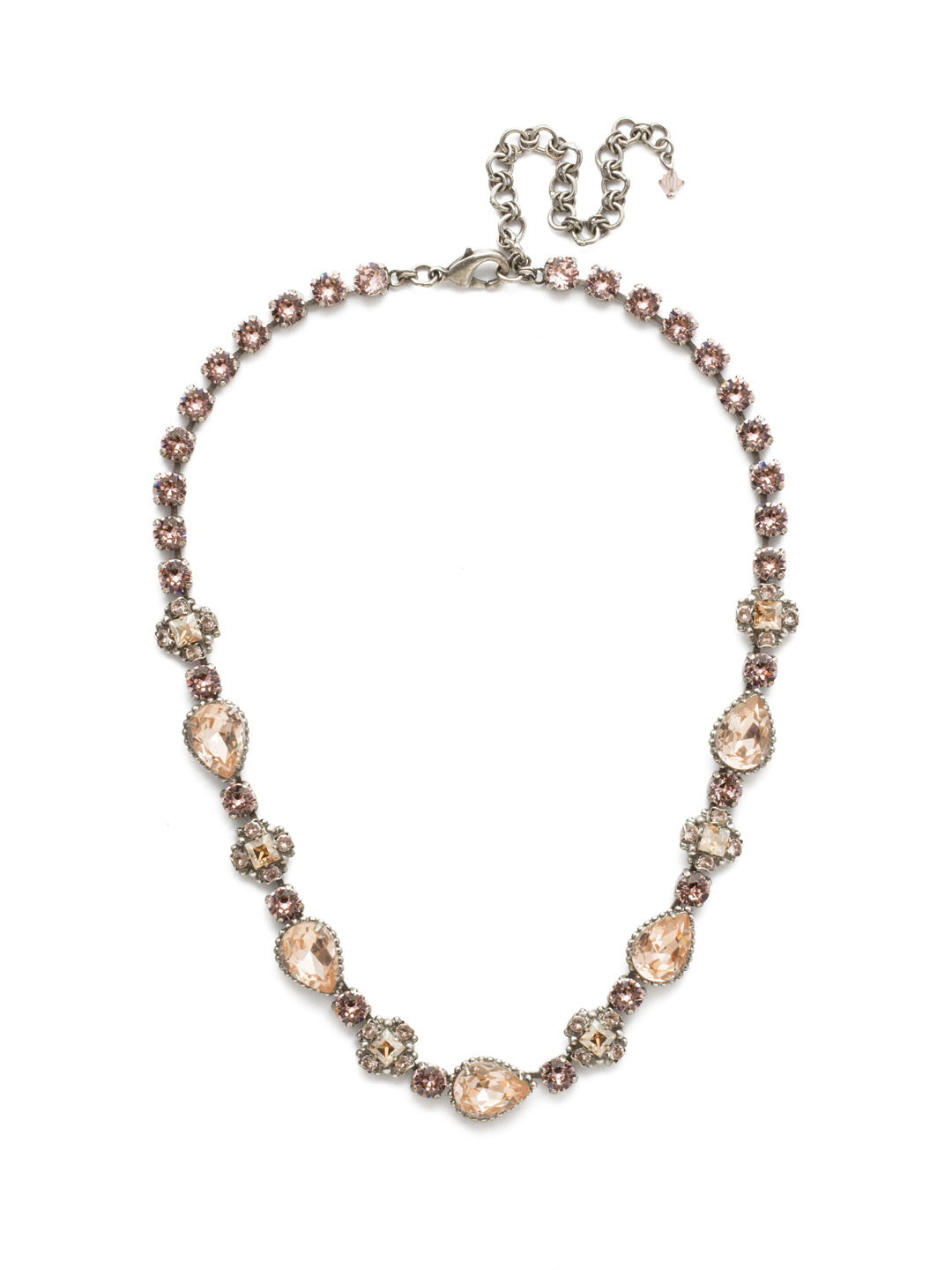 Posey Line Necklace - NDT9ASSBL