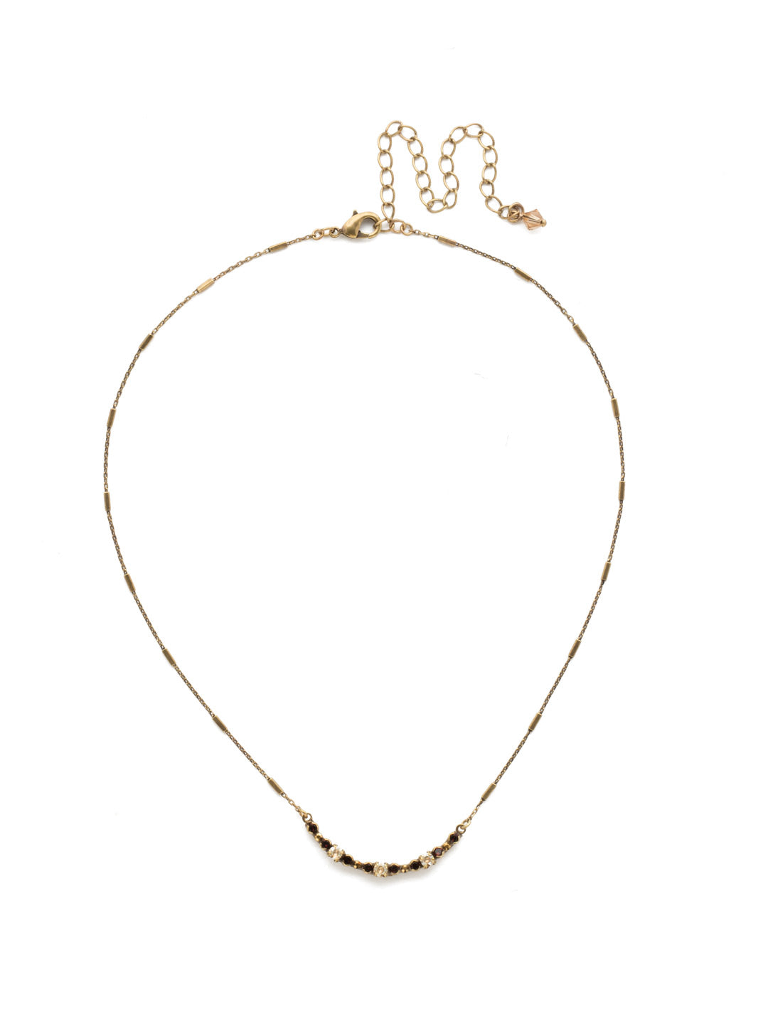 The Skinny Mini Necklace - NDU46AGMMA
