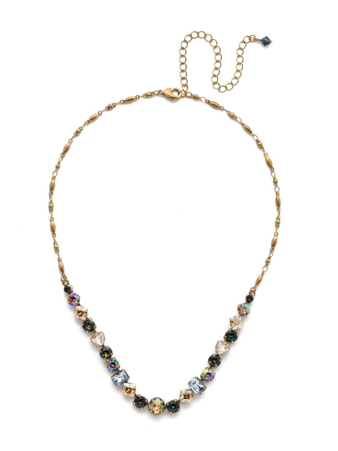 Papaver Tennis Necklace - NDX14AGSDE