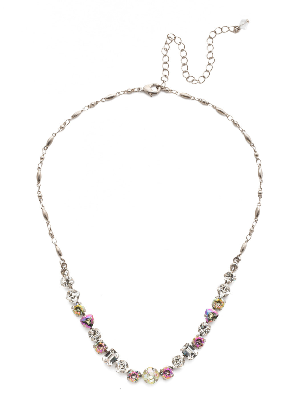 Papaver Tennis Necklace - NDX14ASCRE