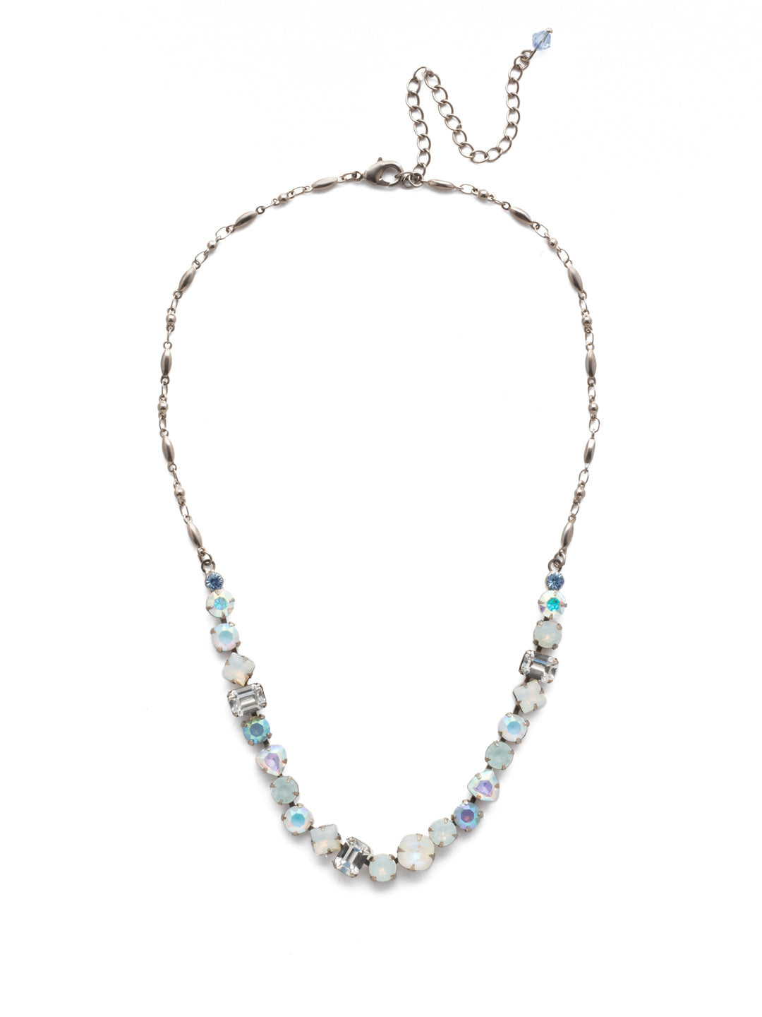 Papaver Tennis Necklace - NDX14ASGLC