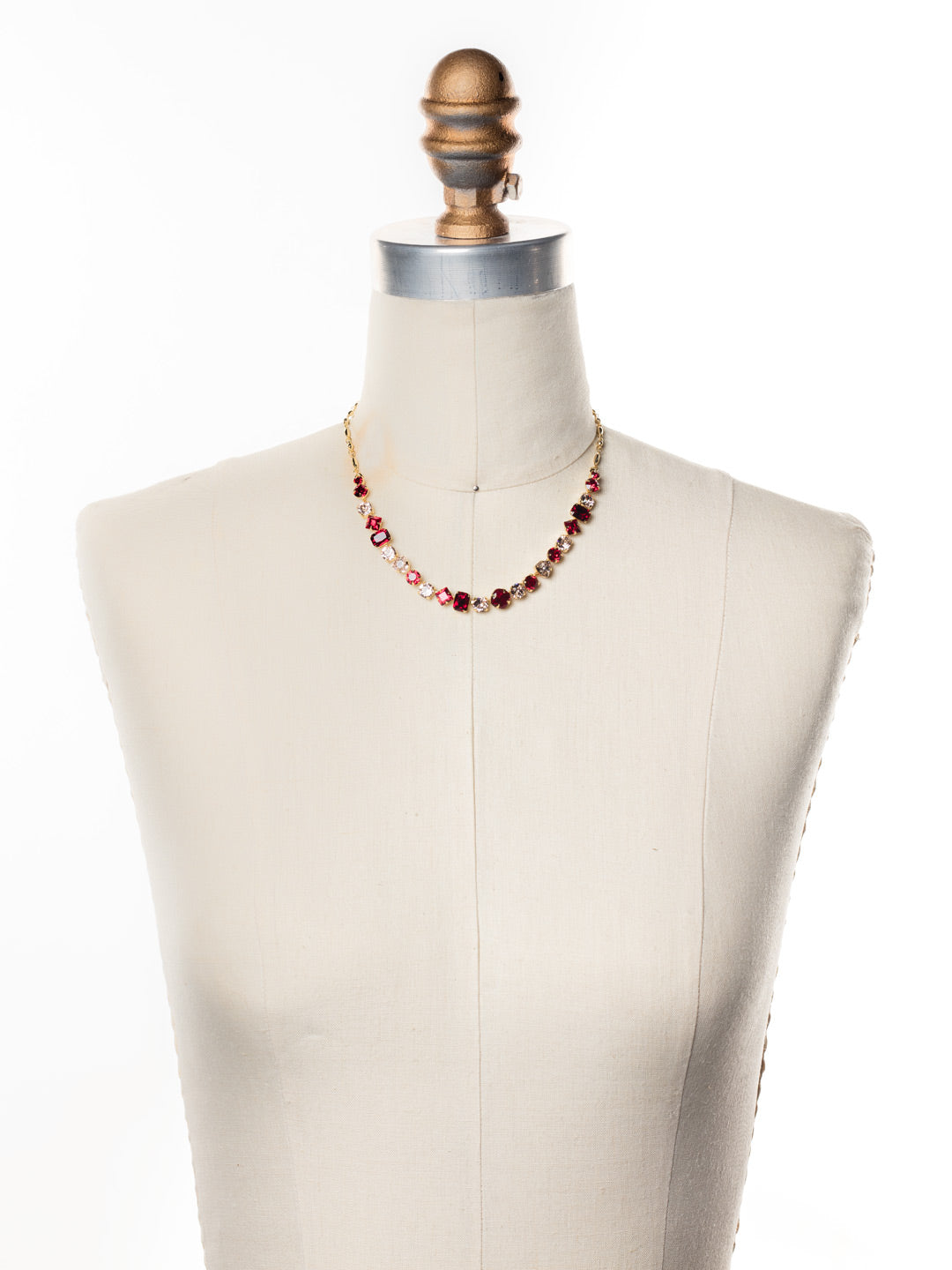Papaver Tennis Necklace - NDX14BGSRC