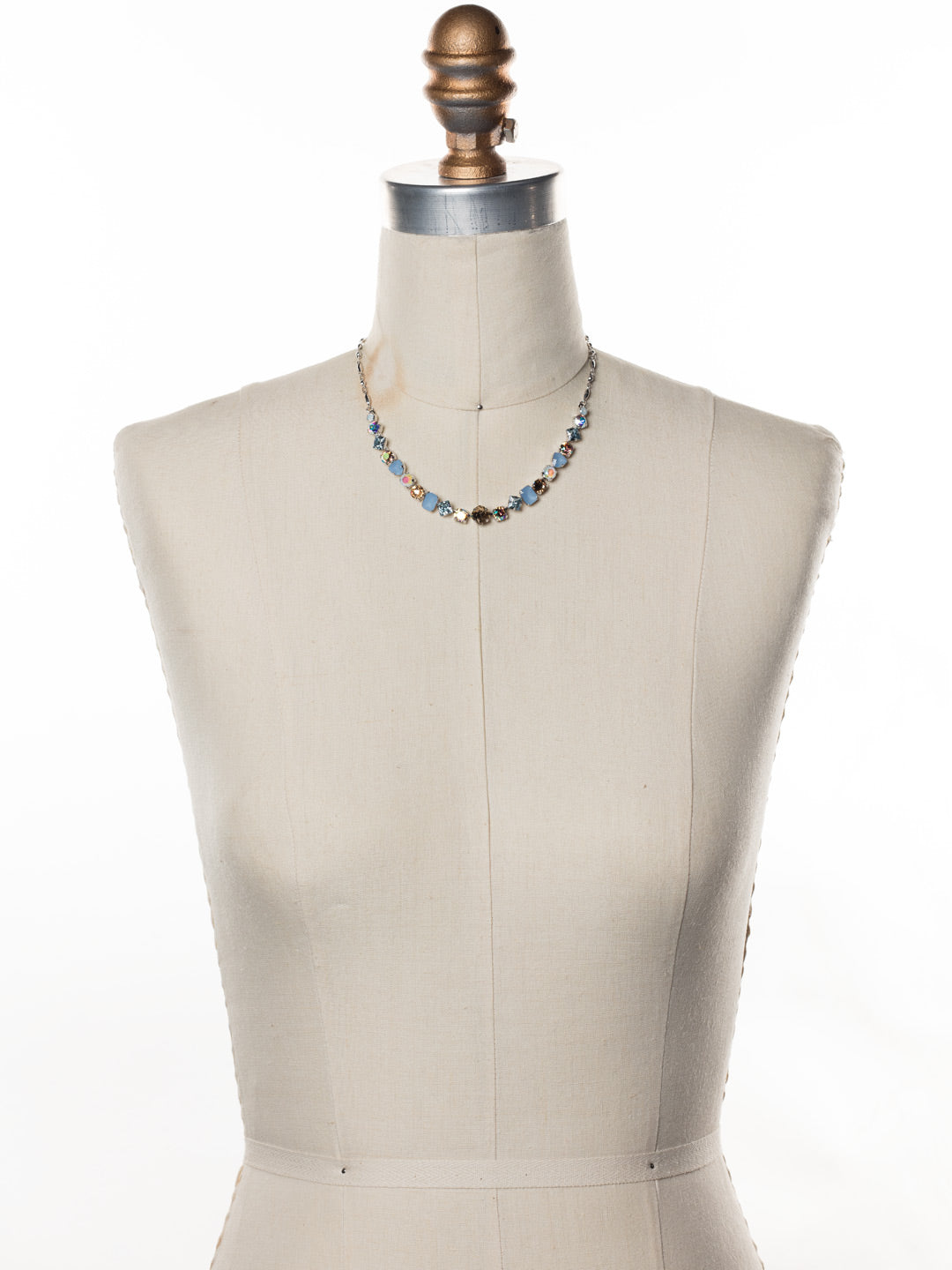 Papaver Tennis Necklace - NDX14RHNTB