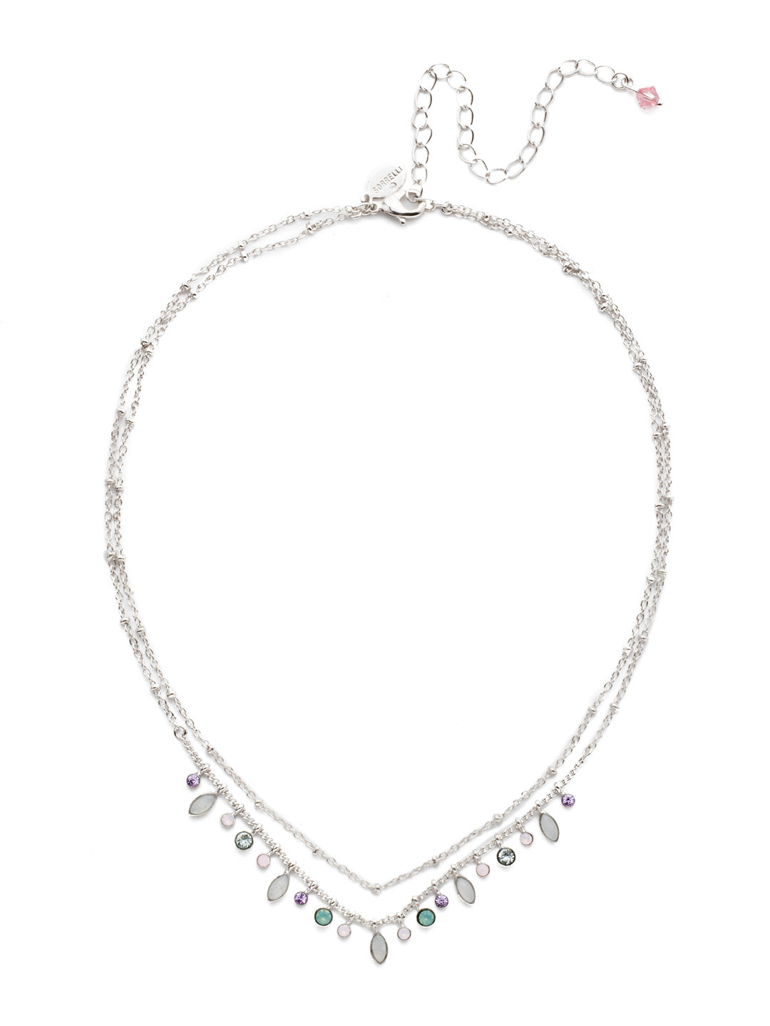 Rina Delicate Layered Necklace - NDY10RHTUL