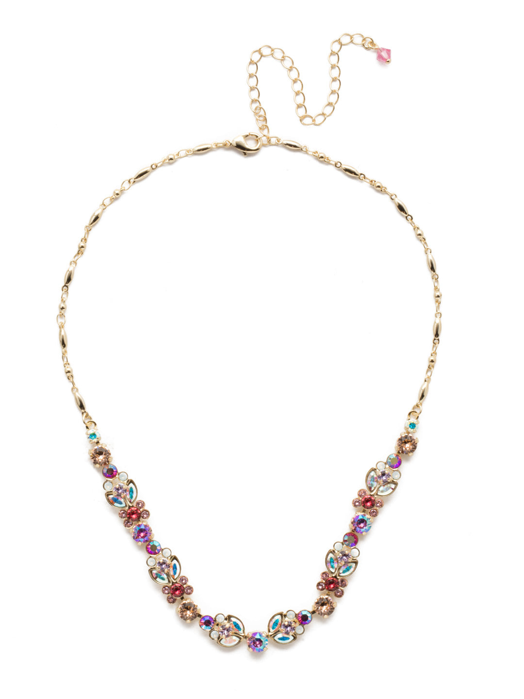 Terina Tennis Necklace - NEA2BGISS