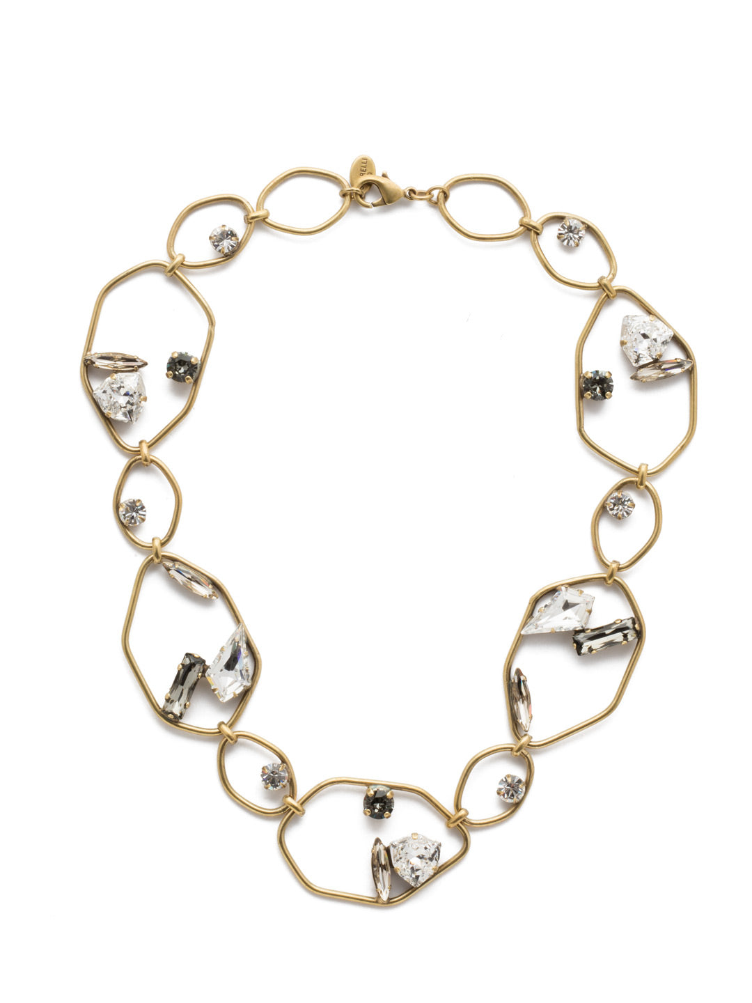 Presley Collar Necklace - NEB28AGCRY