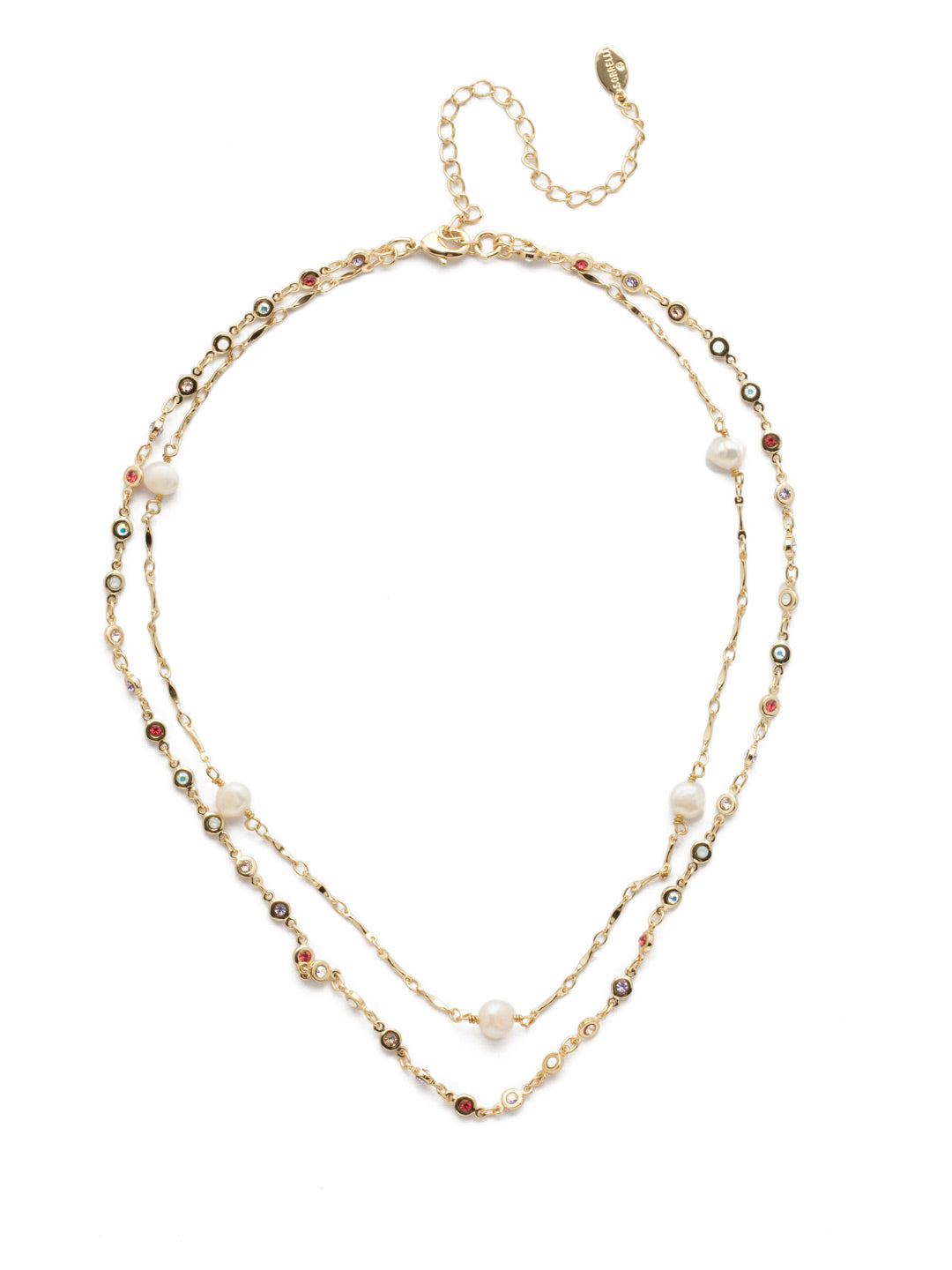 Ravenna Layered Necklace - NEC10BGISS
