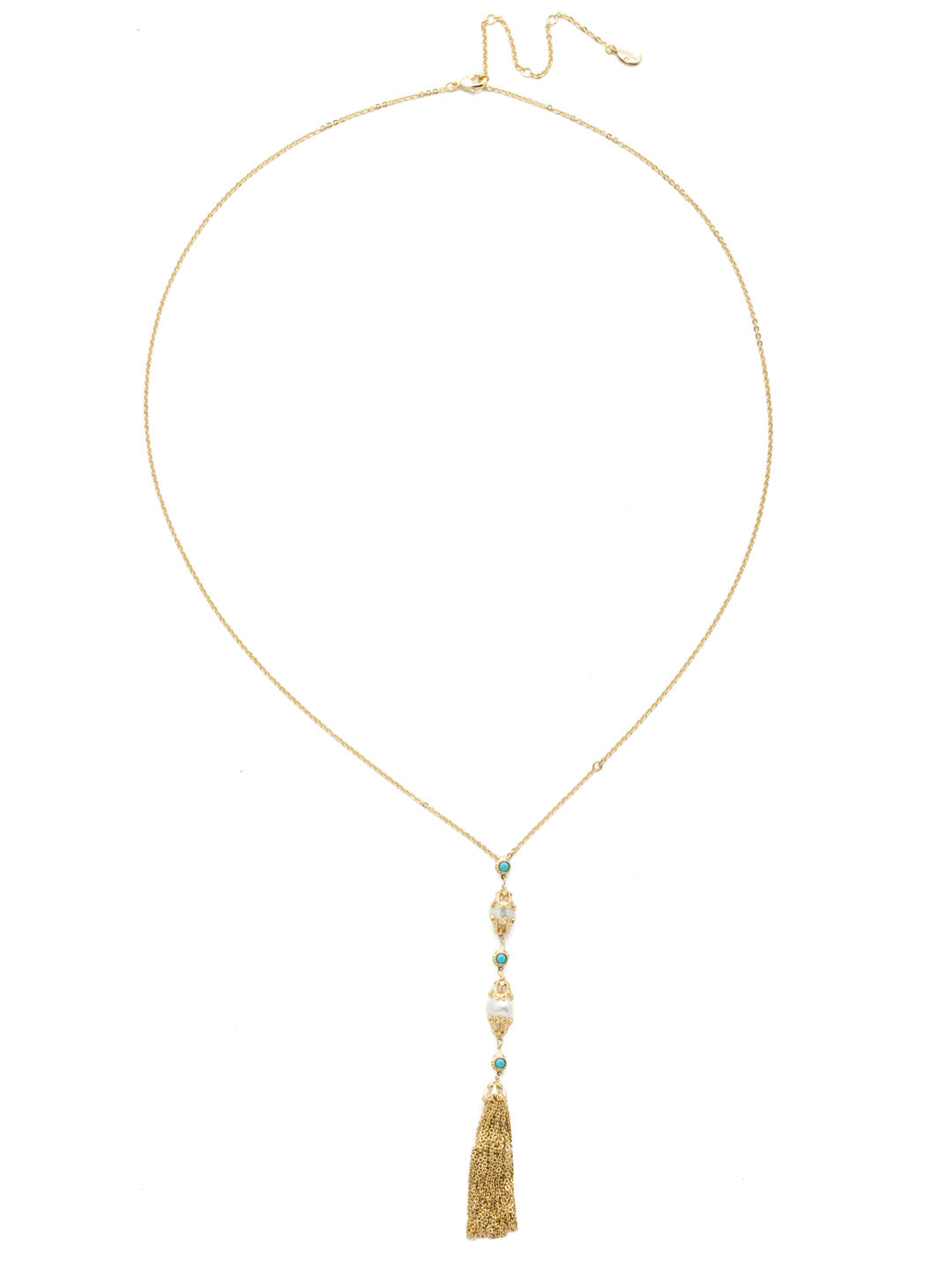 Concetta Long Strand Necklace - NEC13BGPLP