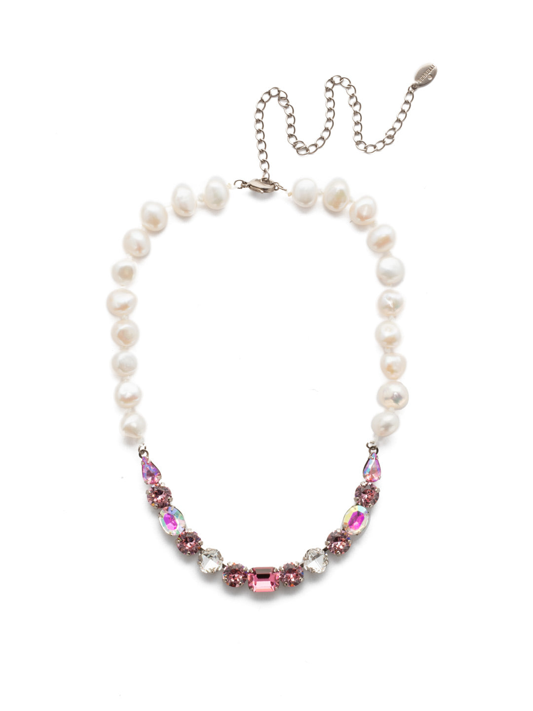 Cadenza Tennis Necklace - NEC14ASMP