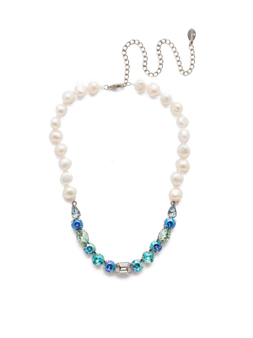 Cadenza Tennis Necklace - NEC14ASPRP
