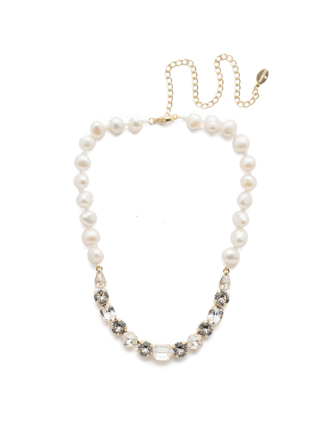 Cadenza Tennis Necklace - NEC14BGCRY