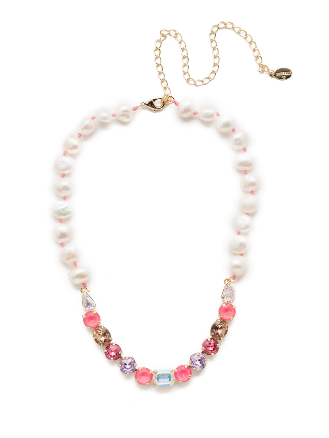 Cadenza Tennis Necklace - NEC14BGISS