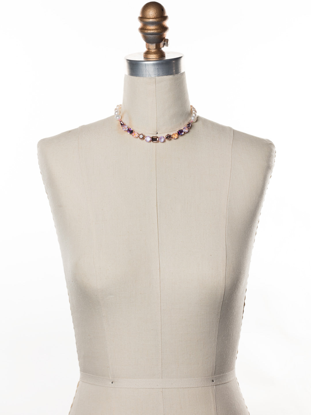 Cadenza Tennis Necklace - NEC14RGLVP