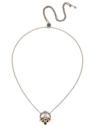 Alivia Adjustable Choker Necklace - NEE23ASHMT