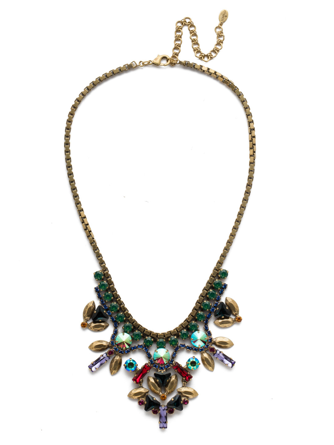 Jeyne Bib Necklace - NEF13AGGOT