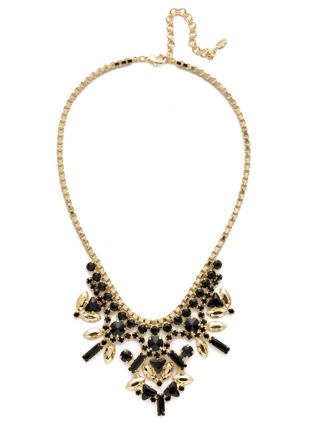Jeyne Bib Necklace - NEF13BGJET