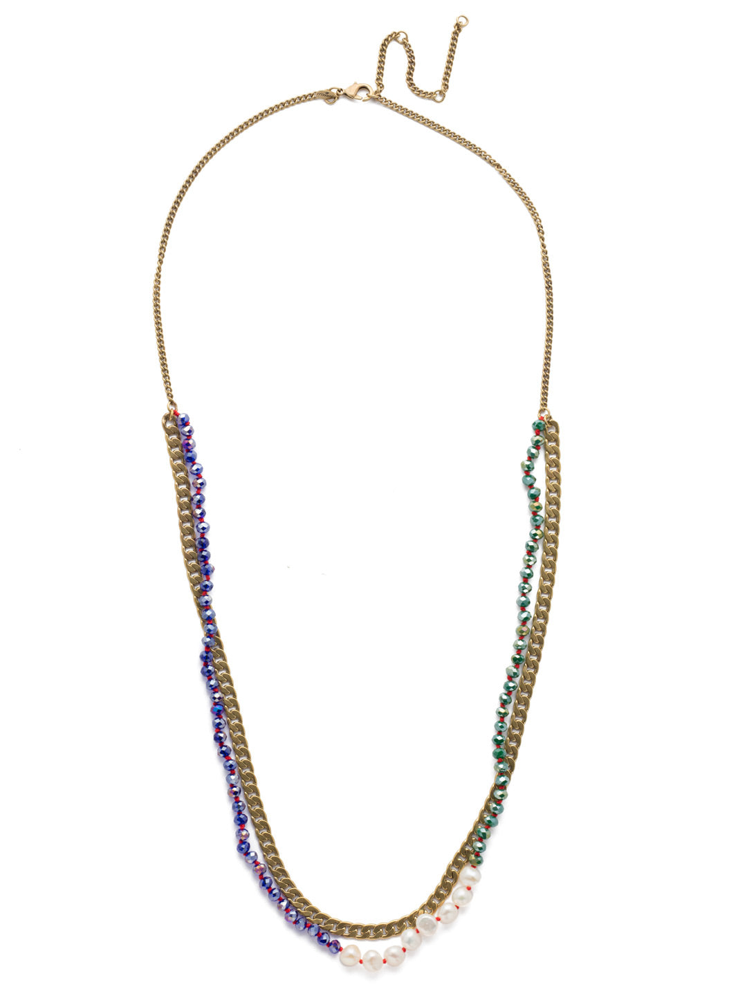 Brienne Long Strand Necklace - NEF42AGGOT